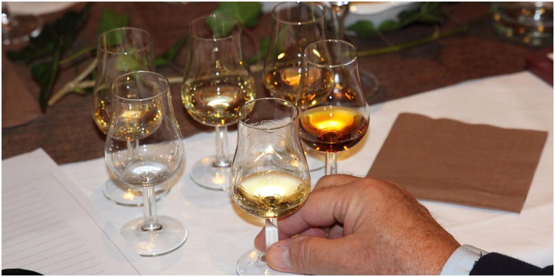 whisky taste chart