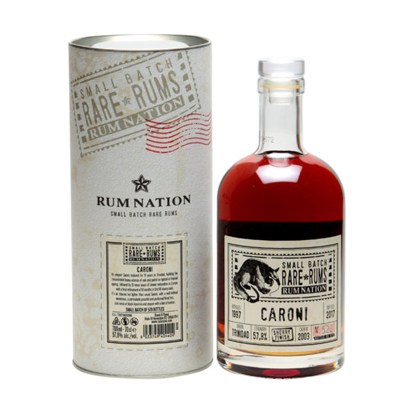 Caroni Sherry Finish Rum Nation