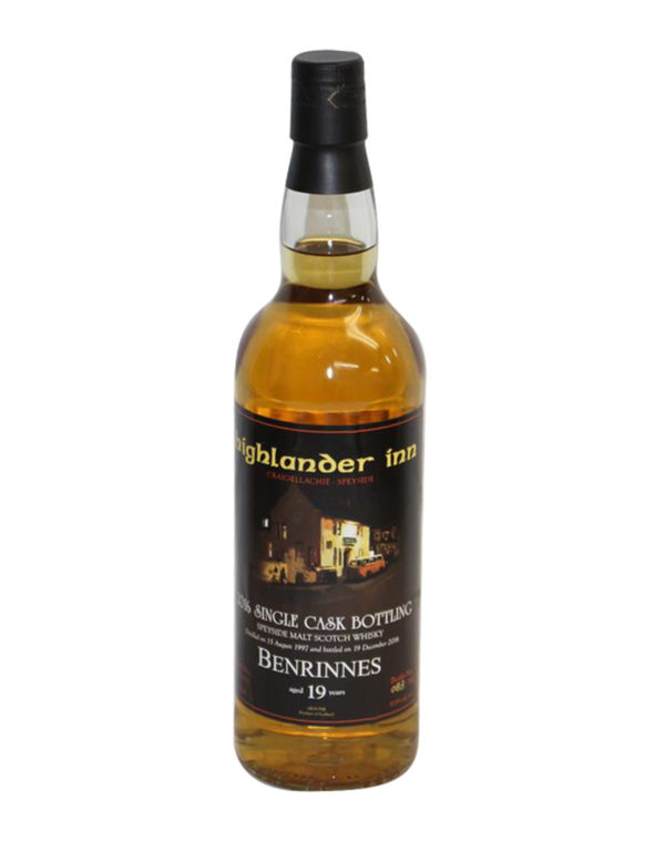 Benrinnes 19 Year Old (Douglas Laing, 1997) Bottled for Highlander Inn