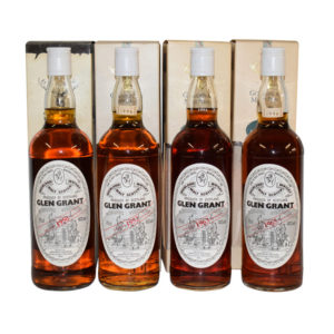 1950, 1952, 1963 and 1965 Glen Grant (G&M)