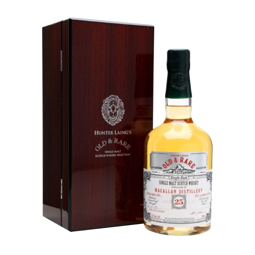Macallan 25 Year Old (Hunter Laing, 1990)