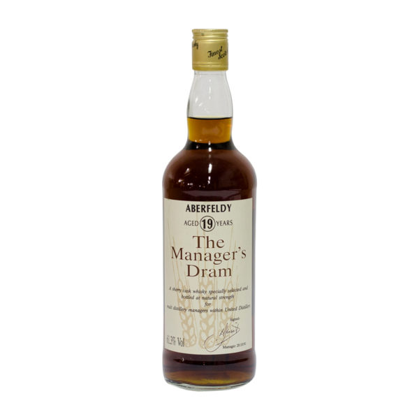 Aberfeldy 19 Year Old (The Manager's Dram 1991 Bottling)
