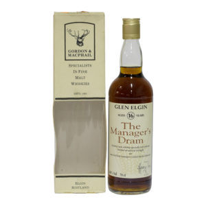 Glen Elgin 16 Year Old, The Manager's Dram 1993 Bottling