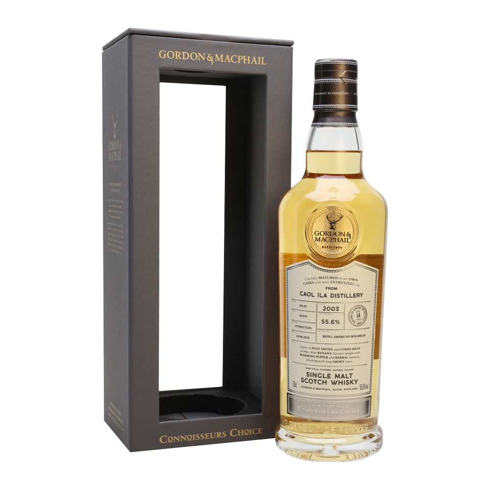 Caol Ila 14 Year Old Connoisseurs Choice (Gordon & MacPhail, 2003)
