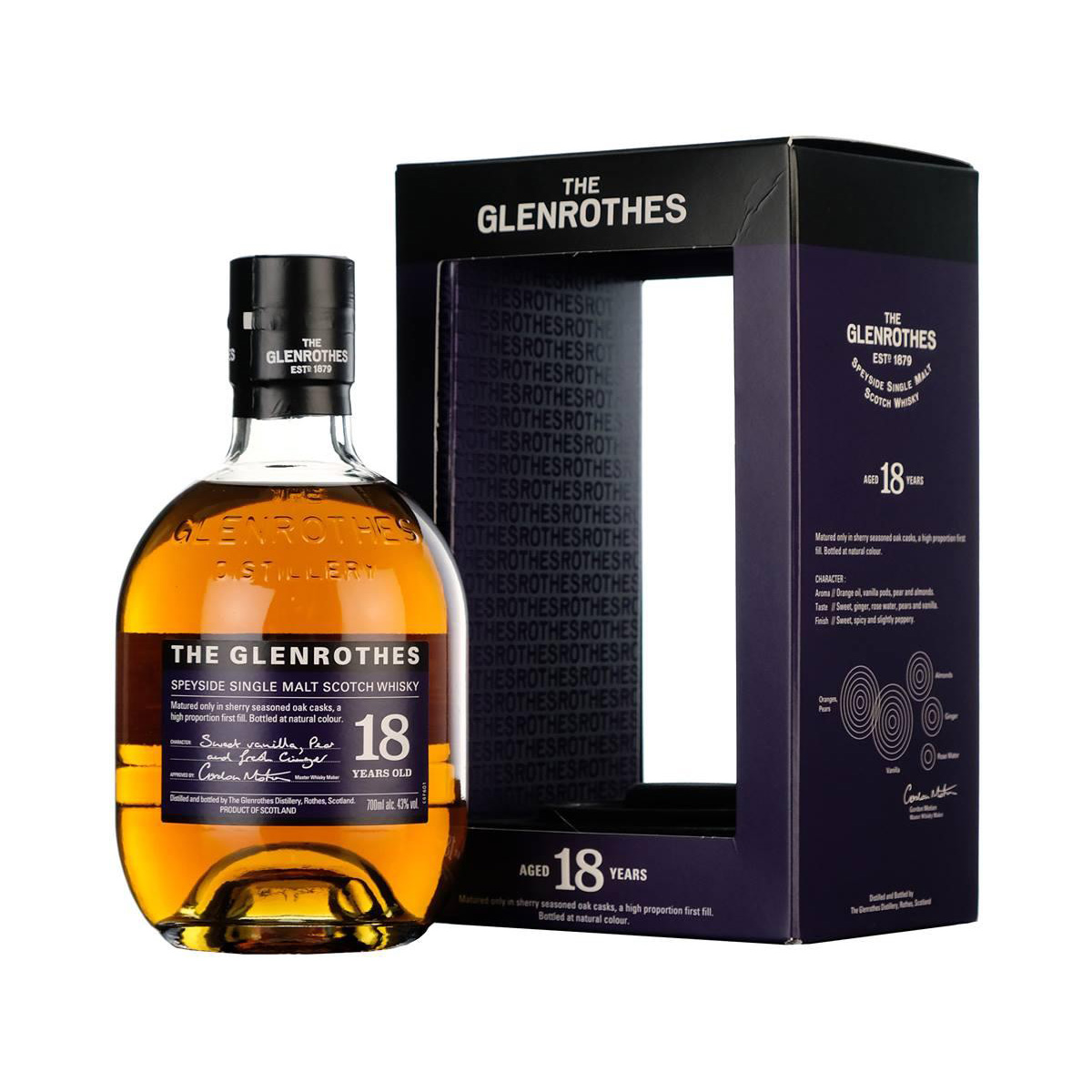 Glenrothes 18 Year Old Soleo New Release Single Malt Whisky