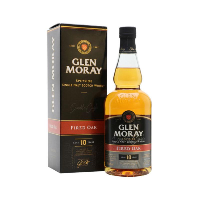 Glen Moray Fire Oak 1 Single Malt Whisky