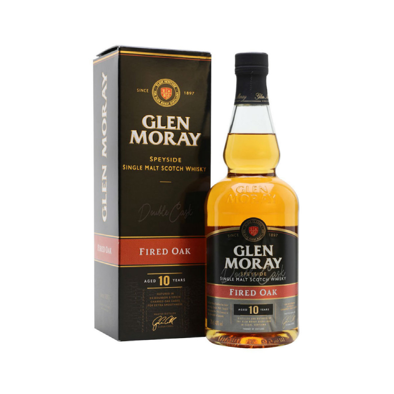 Glen Moray Fire Oak 1 Single Malt Whisky
