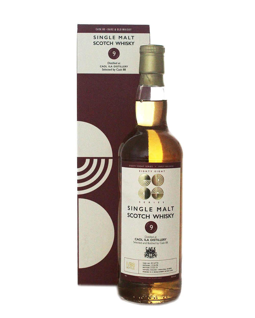 Caol Ila 9 Year Old