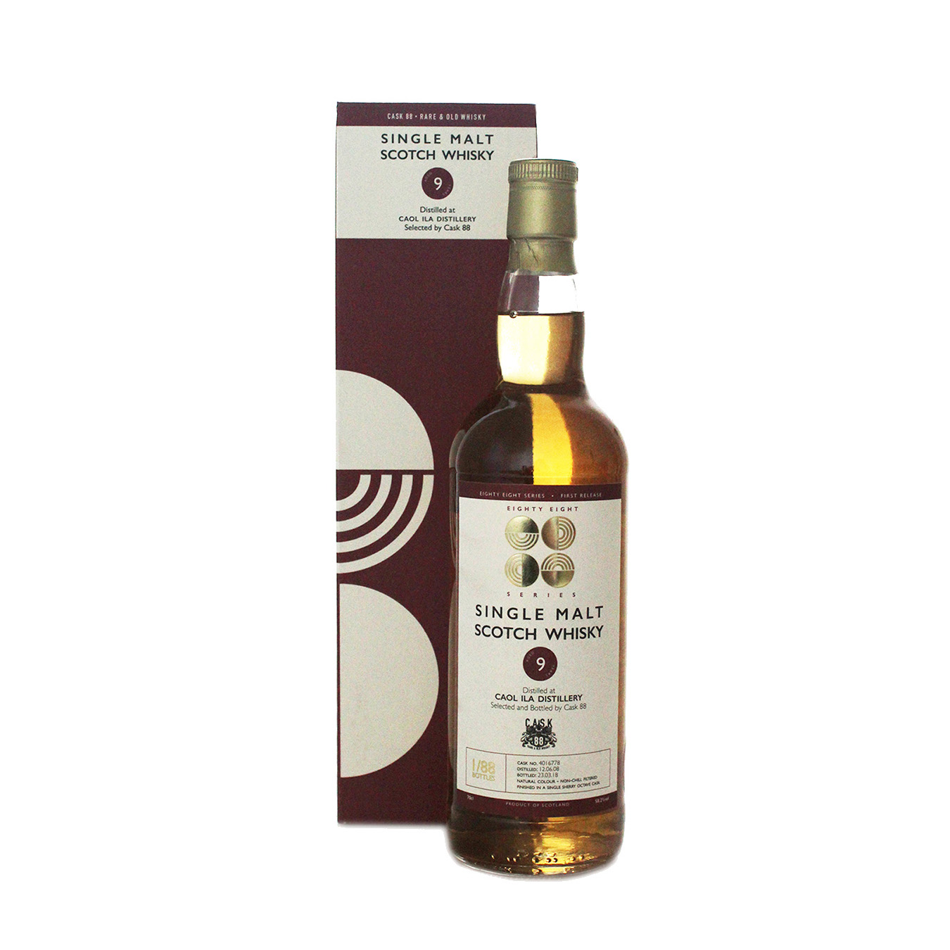 Caol Ila Eighty Eight Series Bottle New