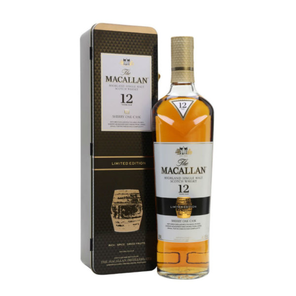 Macallan 12 Year Old Sherry Cask Limited Edition