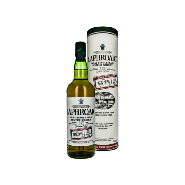 Laphroaig 10 Year Old Cask Strength Batch 002
