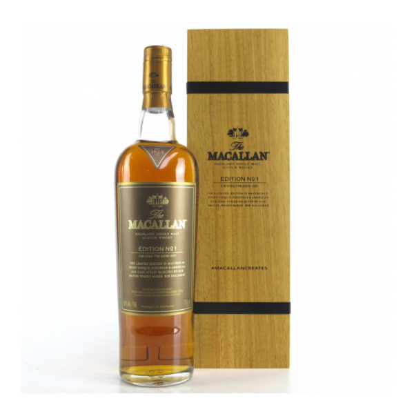 Macallan Edition No.1 Wooden Box