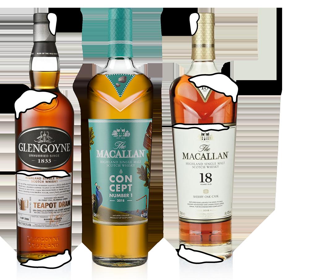 Whisky Foundation Winter Warmup Bottles