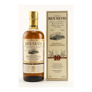 Ben Nevis 10 Year Old Cask Strength Batch No.1