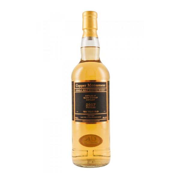 Glen Moray 10 Year Old 2007 – Copper Monument