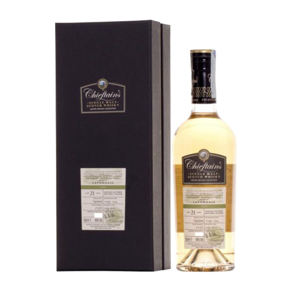 Laphroaig 21 Year Old (Chieftain's, 1994)