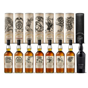 Complete Game of Thrones Whisky Collection