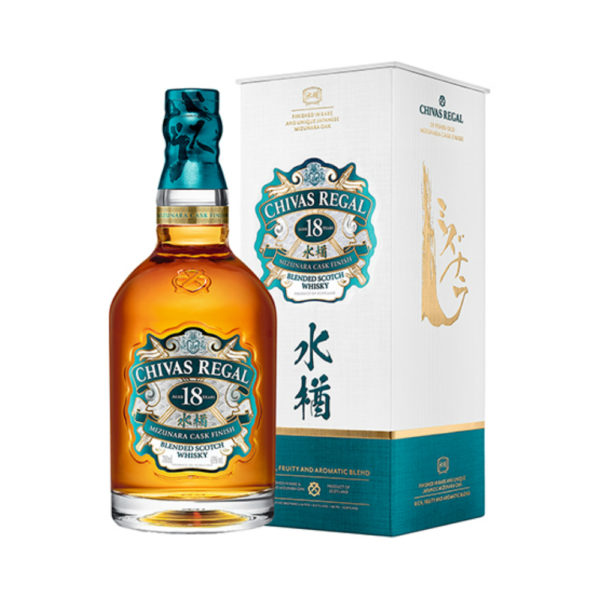 Chivas Regal 18 Year Old Mizunara Finish
