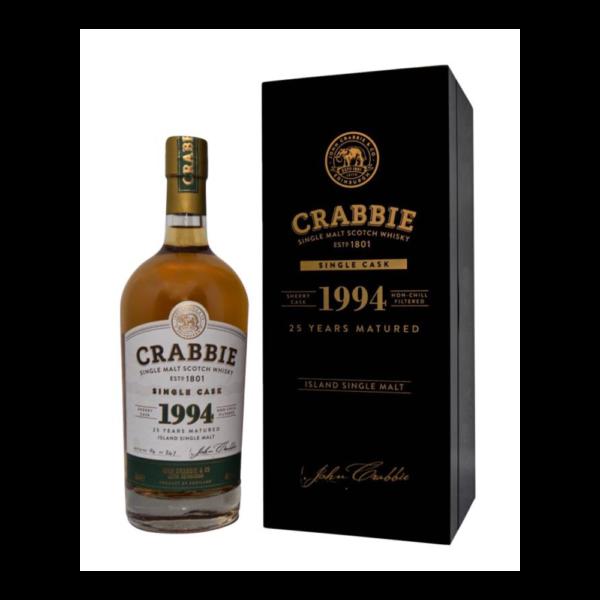Crabbie 25 Year Old Single Malt