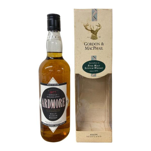 Ardmore Malt Scotch Whisky (Gordon MacPhail, 1977)