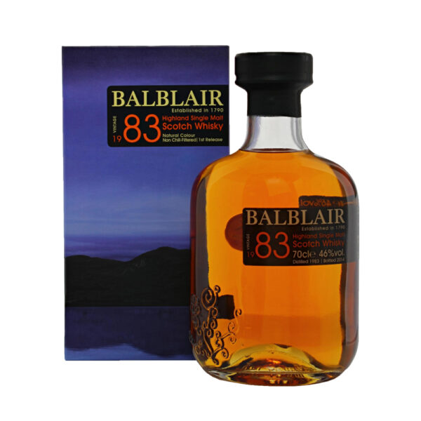 Balblair 20 Year Old 1st Release (1983)