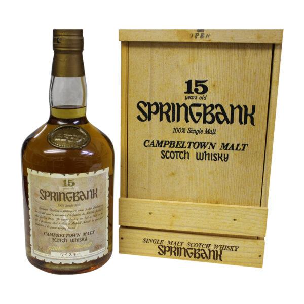 Springbank 15 Year Old