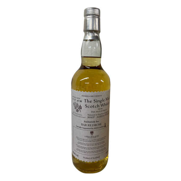 The Single Malt Scotch Whisky 2007 Aged 8 Years Exclusively for BAR REDROSE