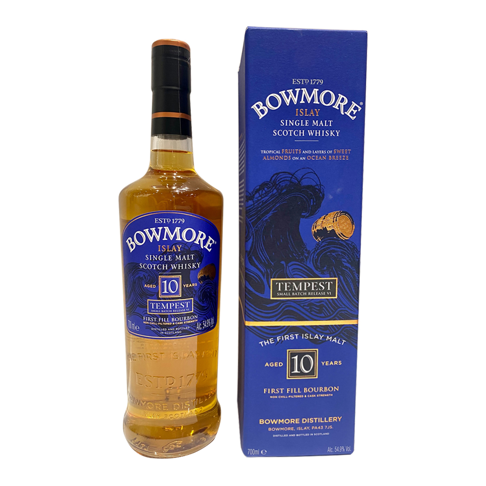 Bowmore 10 Year Old Tempest Small Batch Release VI