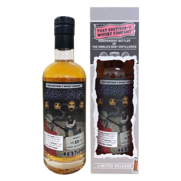 Speyside 20 Year Old Batch #4 (That Boutique-y Whisky Company)