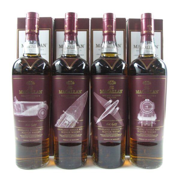 Macallan Whisky Maker's Edition Classic Travel Range