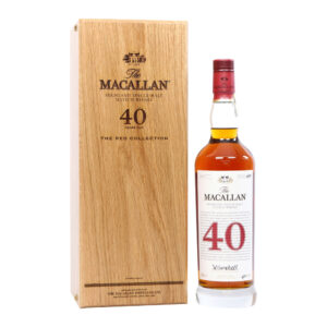 Macallan 40 Year Old Red Collection
