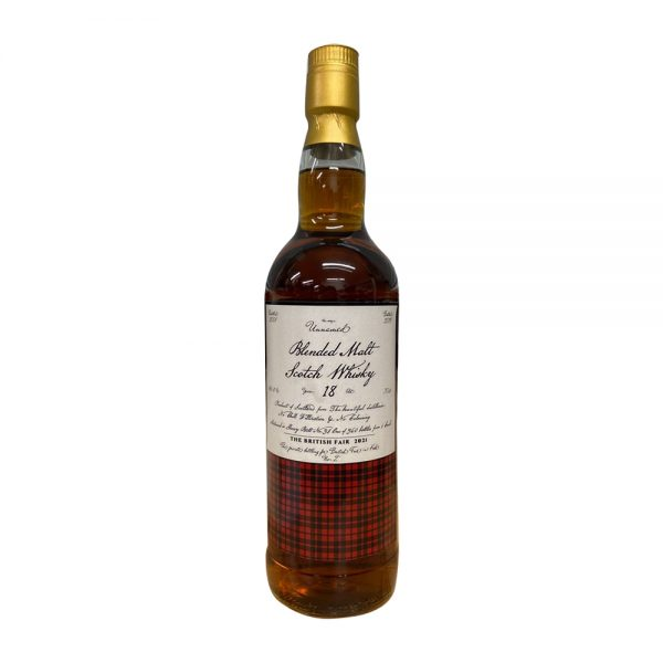 Blended Malt Scotch Whisky 18 Year Old ( for The British Fair in KOBE 2021)