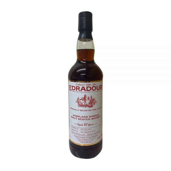 Edradour Aged 10 Year Old Sherry Butt - Selected for Japan