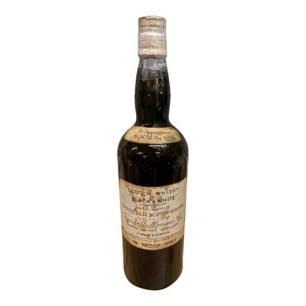 Glentauchers - Glenlivet Black & White Scotch Whisky (1930)