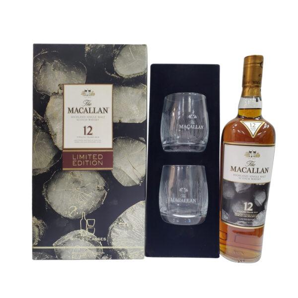 Macallan 12 Year Old Sherry Oak 2018 Limited Edition Albert Watson Gift Box